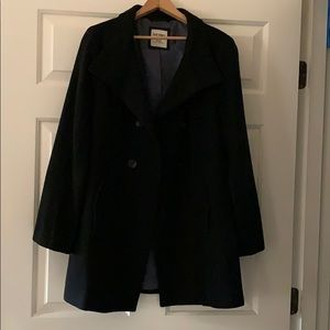 Old Navy Black Pea Coat EUC